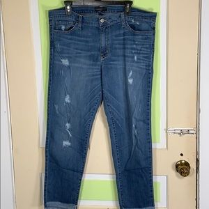 FLYING MONKEY JEANS MADE IN USA 32 14 skinny low